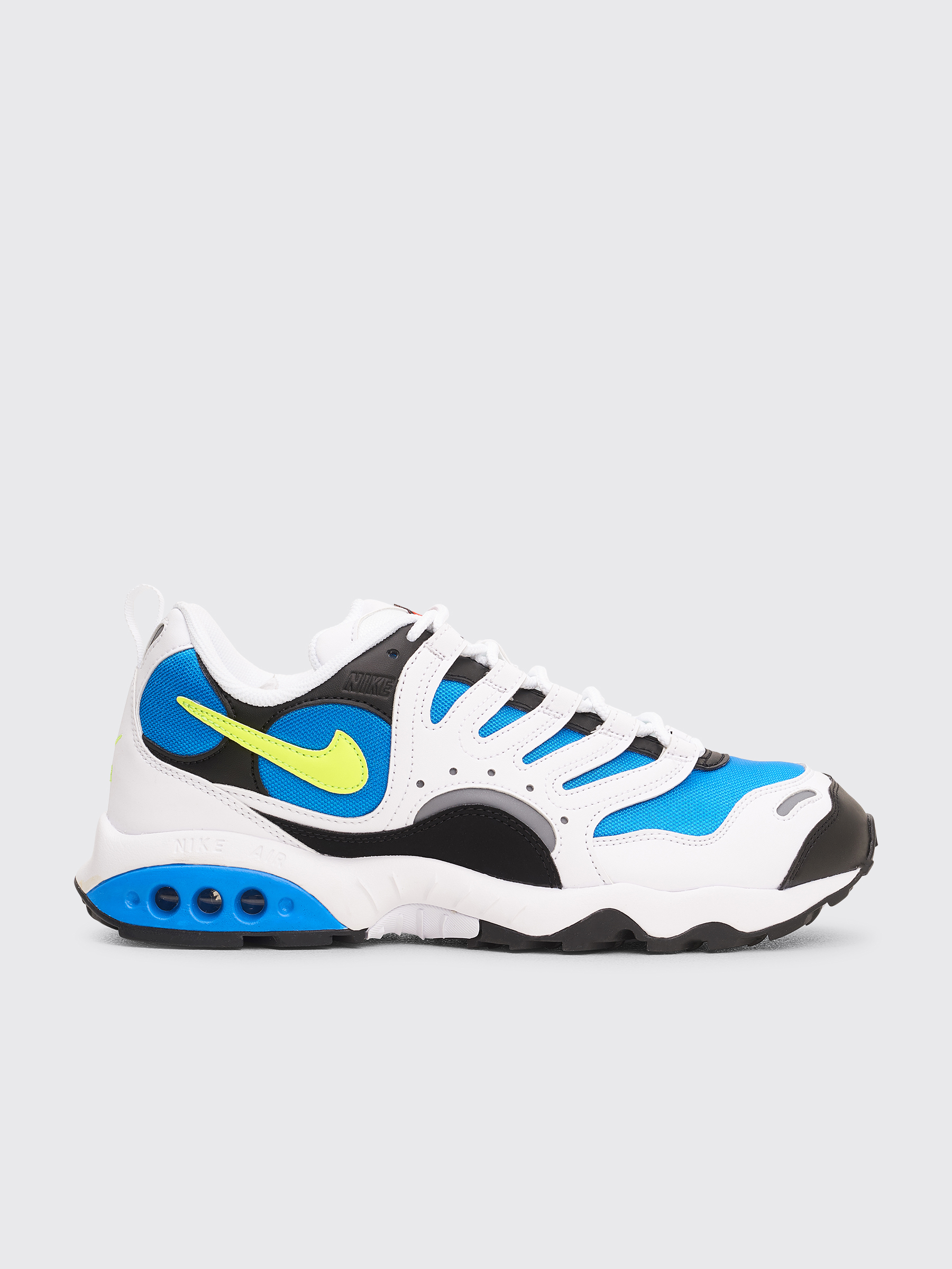 huge discount 9b727 d1a41 Très Bien - Nike Air Terra Humara 18 White  Volt  Photo Blue