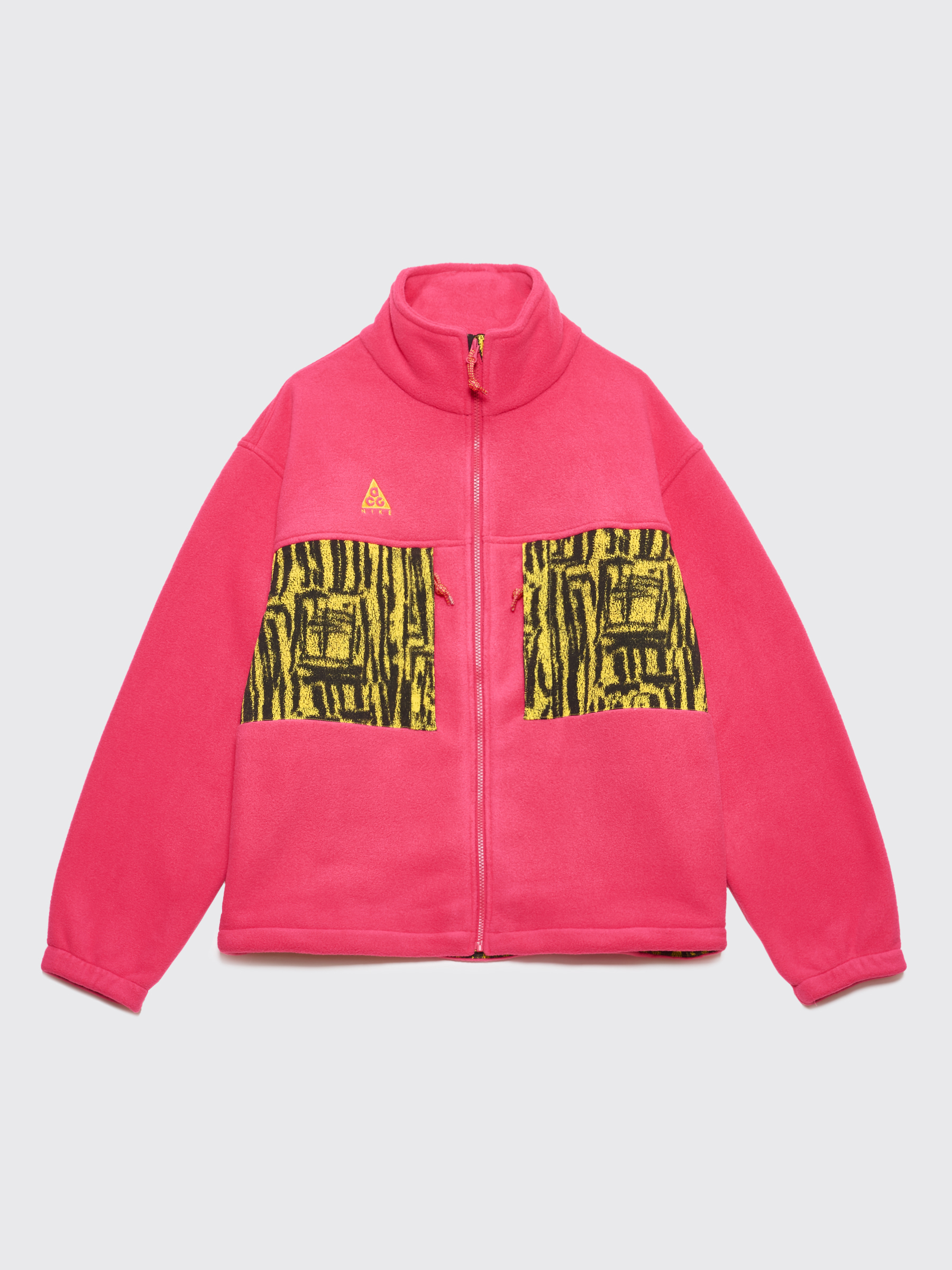 83dae224cb37 Très Bien - Nike ACG Fleece Jacket Rush Pink   Opti Yellow