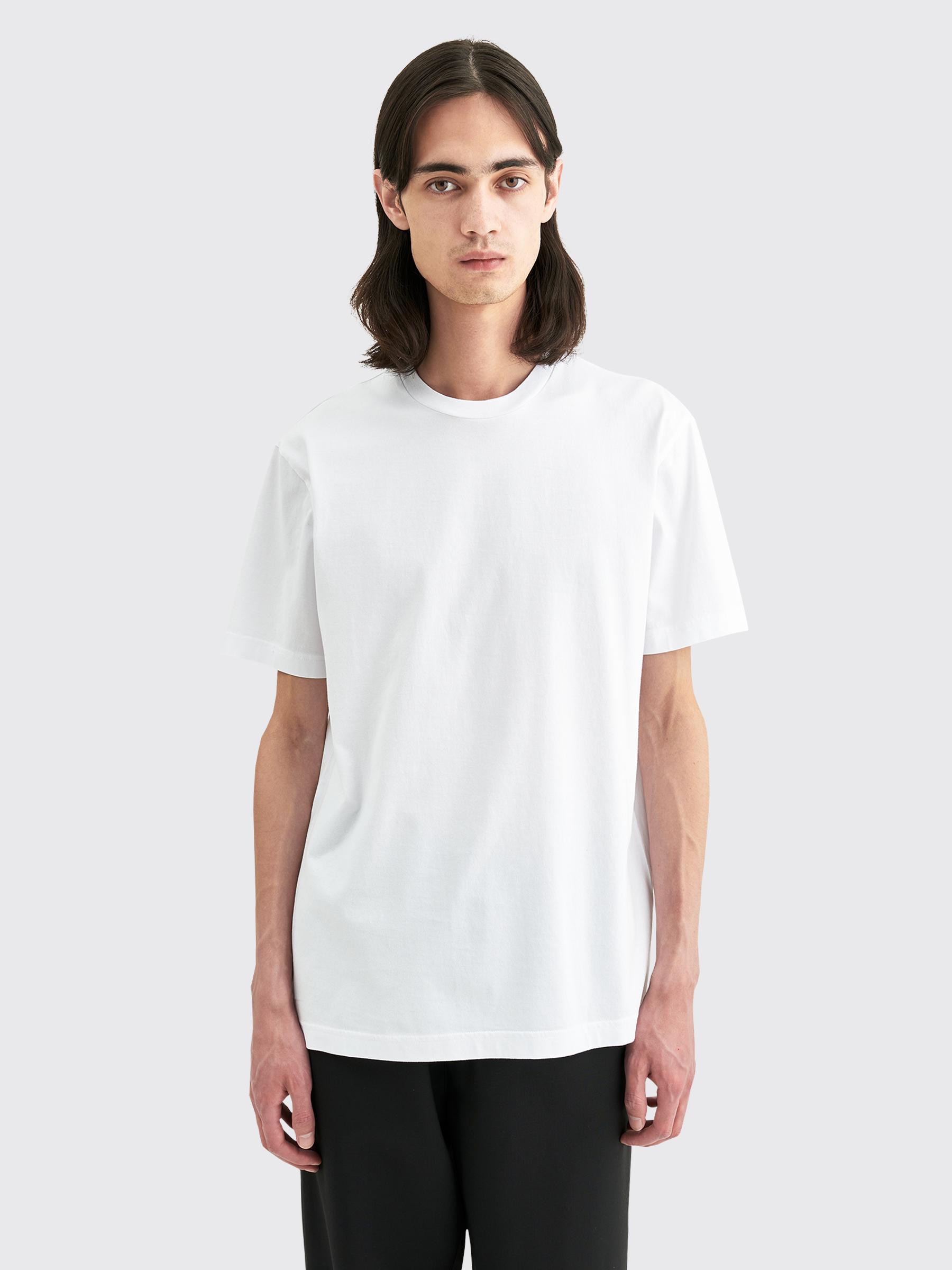 Acne Studios Everrick Pink Label T shirt Optic White