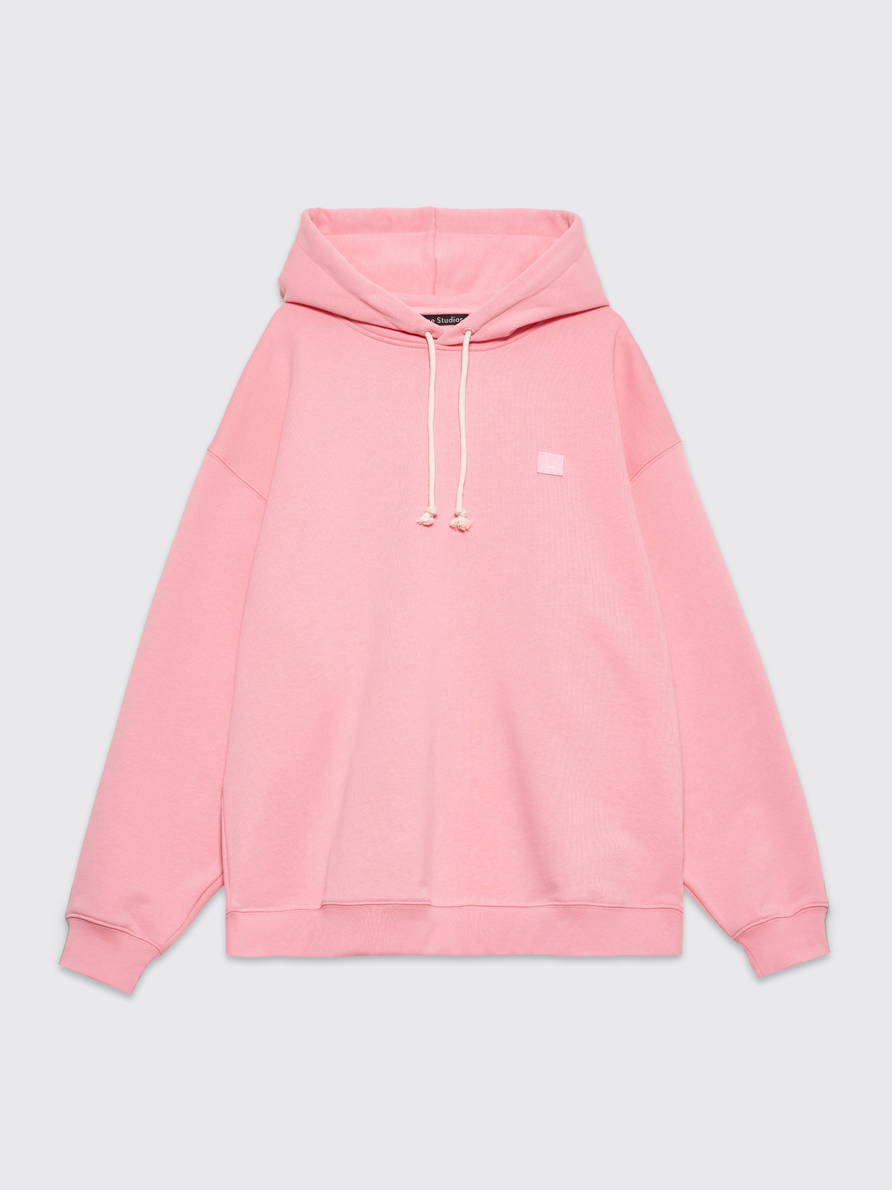 the latest many fashionable hot sale Acne Studios Farrin Face Hooded Sweatshirt Blush Pink