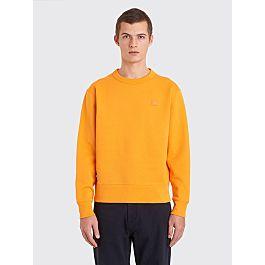 Acne Studios Fairview Face Sweatshirt Sharp Orange by Très Bien