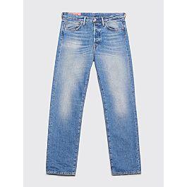 Acne Studios Blå Konst 1996 Jeans Mid Blue Trash by Très Bien