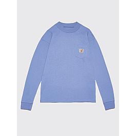Brain Dead X Carhartt Wip Swan Ls Pocket T Shirt Moonsoon by Très Bien