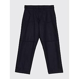 Comme Des Garçons Shirt Large Wool Pants Dark Navy by Très Bien