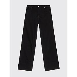 Eckhaus Latta Wide Leg Jeans Black by Très Bien