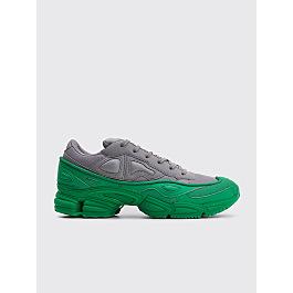 Adidas X Raf Simons Ozweego Green / Grey by Très Bien
