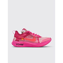 Nike X Off White 10:Zoom Fly Tulip Pink by Très Bien