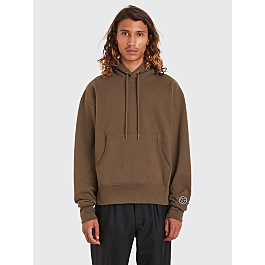 Gosha Rubchinskiy Hooded Sweatshirt Army Green by Très Bien