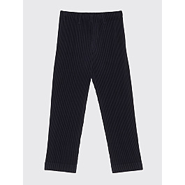 Homme Plissé Issey Miyake Pleated Narrow Pants Black by Très Bien