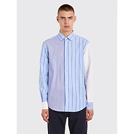 Jw Anderson Panelled Classic Shirt Powder Blue by Très Bien