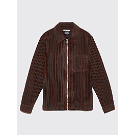 Our Legacy Drip Shirt Multi Brown Corduroy by Très Bien