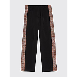 Our Legacy Pleated Pants Accordion Tape Black by Très Bien
