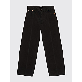 Our Legacy Vast Zone Cut Moleskin Pants Black by Très Bien