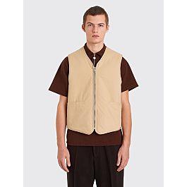 Our Legacy Zip Tail Vest Beige by Très Bien