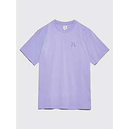 Polar Skate Co. Happy Sad Garment Dyed T Shirt Washed Purple by Très Bien