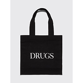 Idea Drugs Tote Bag Black by Très Bien