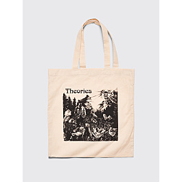 Theories Dinosaur Tote Bag Natural by Très Bien