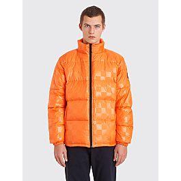 Stüssy Puffer Jacket Checkered Orange by Très Bien