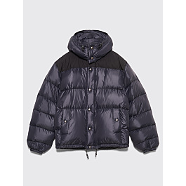 Très Bien X Crescent Down Works Hooded Puffer Jacket Black by Très Bien