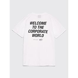 Très Bien X Junior Executive Parrot T Shirt White by Très Bien