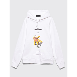 Undercover Hal Laboratories Hooded Sweatshirt White by Très Bien