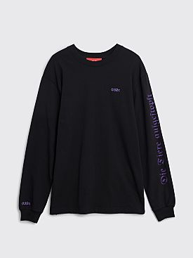032c Visit Berlin LS T-shirt Black