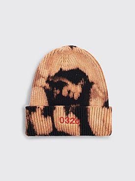 032c Logo Beanie Bleach Black