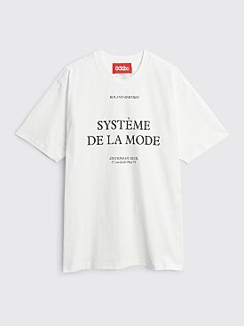 032c Barthes T-shirt White