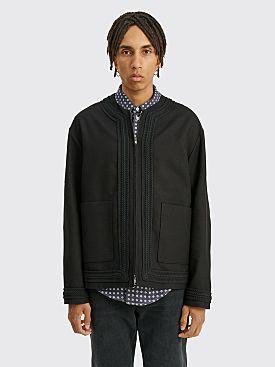 4SDESIGNS Cardigan Coat Black