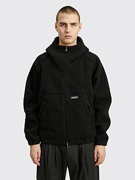 4SDesigns Raglan Parka Jacket Boucle Black