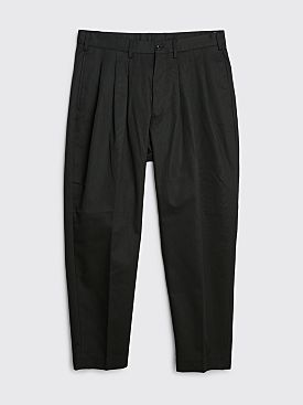 4SDesigns Triple Pleat Pants Black