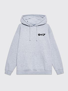 Nine One Seven Bad Baby Hooded Sweatshirt Grey