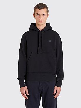 Acne Studios Ferris Face Hooded Sweatshirt Black