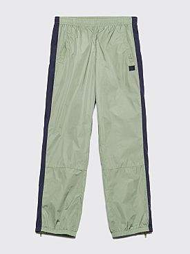 Acne Studios Face Track Pants Dusty Green