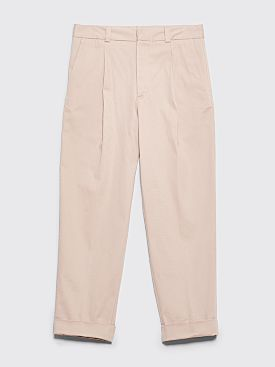Acne Studios Cuffed Pants Stone Grey