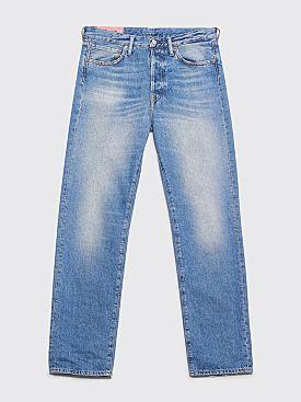 Acne Studios Blå Konst 1996 Jeans Mid Blue Trash