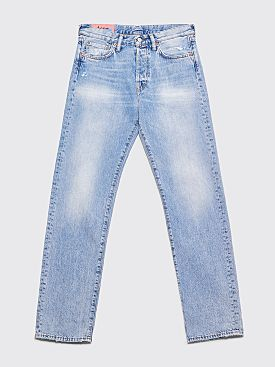 Acne Studios Blå Konst 1996 Jeans Light Blue Trash