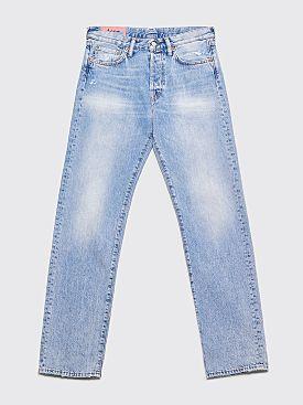 Acne Studios Blå Konst 1996 Jeans Light Blue Trash