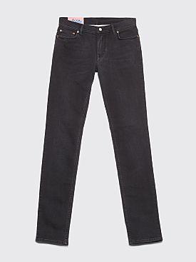 Acne Studios Blå Konst North Jeans Used Black