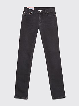 Acne Studios Blå Konst North Jeans Used Black