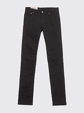 Acne Studios Blå Konst North Jeans Stay Black