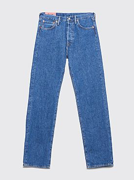 Acne Studios Blå Konst 1996 Jeans Dark Blue Trash