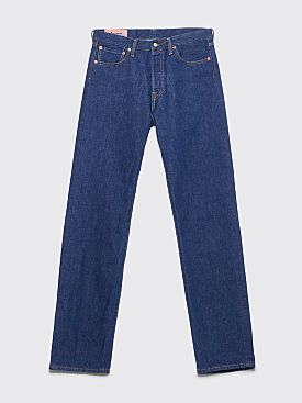 Acne Studios Blå Konst 1996 Jeans Blue Water