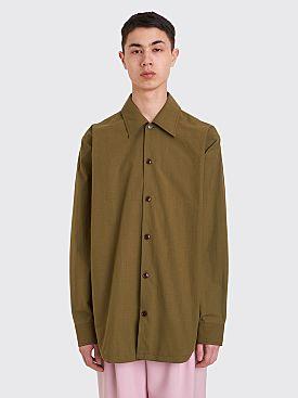 Acne Studios Ripstop Shirt Khaki Green