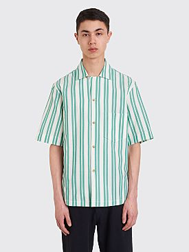 Acne Studios Striped Shirt White Green