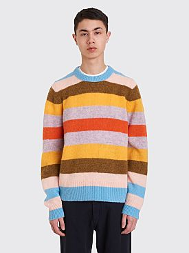 Acne Studios Kai Block Stripe Sweater Multi Color