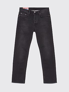 Acne Studios Blå Konst River Jeans Used Black