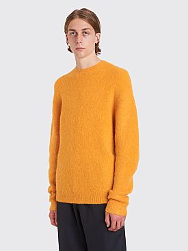 Acne Studios Nosti Alpaca Sweater Apricot Orange