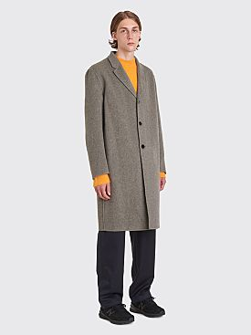 Acne Studios Chad Coat Silver Grey