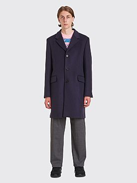 Acne Studios Odilon Classic Coat Dark Navy